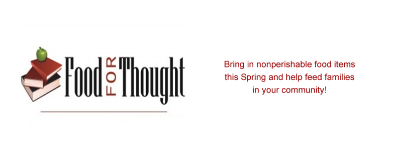 Food for Thought Runs Now through April 27th