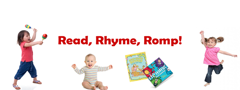 Read, Rhyme, and Romp! For babies through age 4: Various Dates