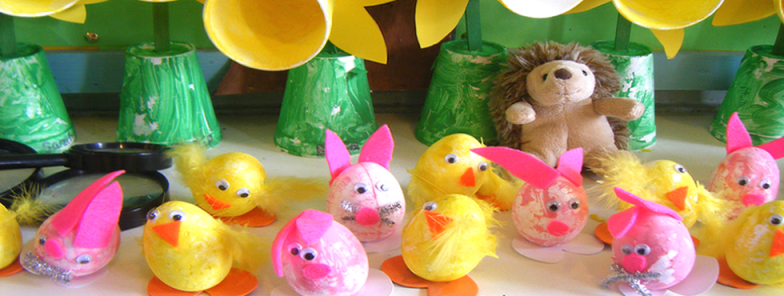 Easter Crafts for Ages 3-12: Thursday, April 6th