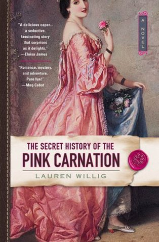 The Secret History of the Pink Carnation book cover